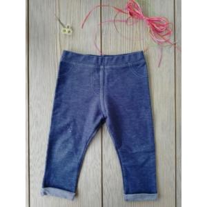 Kék farmer utánzatú leggings