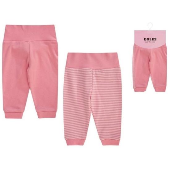 Boley 2 db-os nadrág csomag, korall-rózsaszín színkombináció