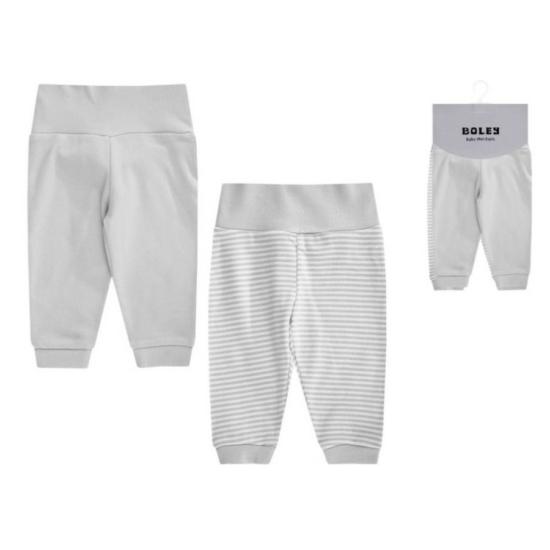 Boley 2 db-os nadrág csomag, szürke-fehér színkombináció