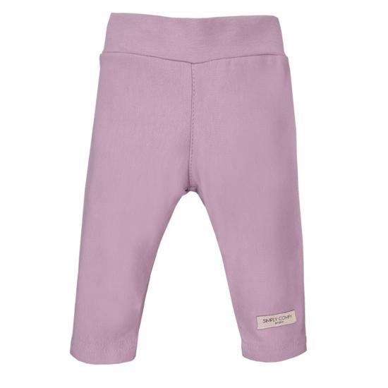 Világoslila baba leggings SIMPLY COMFY