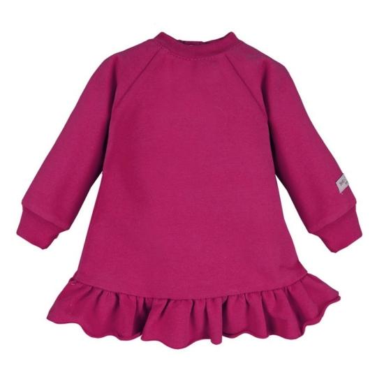 Bordóslila kislány ruha/tunika SIMPLY COMFY