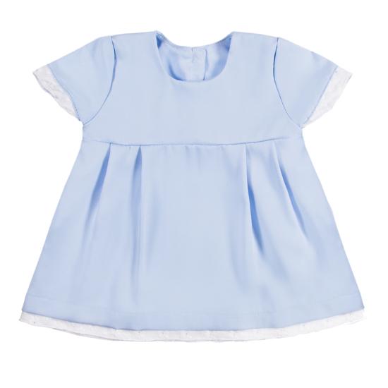 Világoskék alkalmi kislány ruha CLASSIC GIRLS