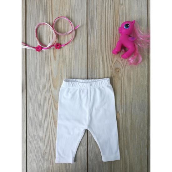 Fehér leggings
