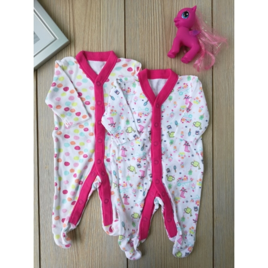 2db pink mintás rugi