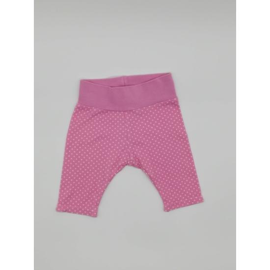 Pink fehér pöttyös nadrág