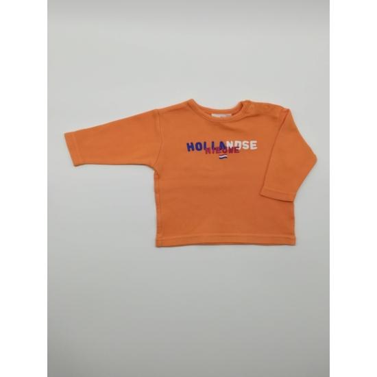 Narancssárga feliratos felső
