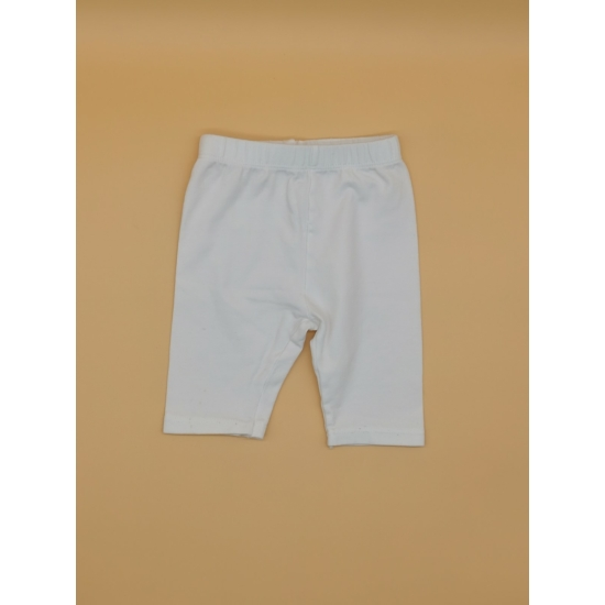 Fehér 7/8-os leggings