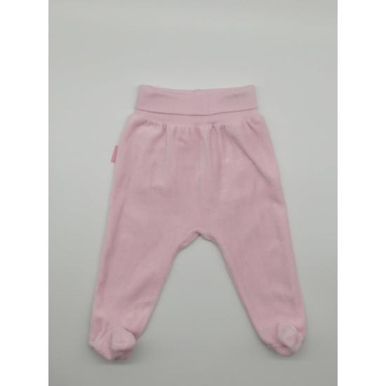 Rózsaszínű talpas nadrág