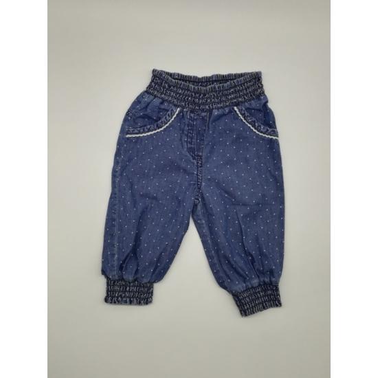 Kék vékony farmer nadrág