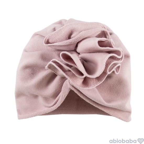 Fáradt rózsaszínű baba turbán SWAN