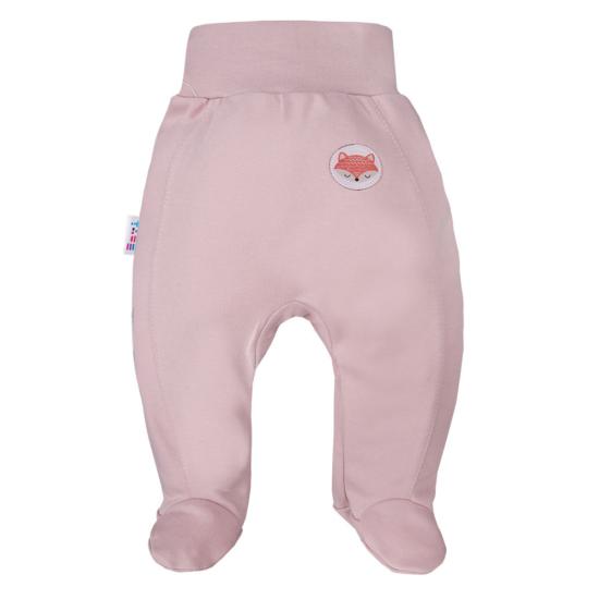 Lilás rózsaszín talpas babanadrág ADVENTURE