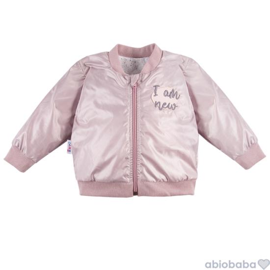 Rózsaszínű kislány bomber dzseki SWAN