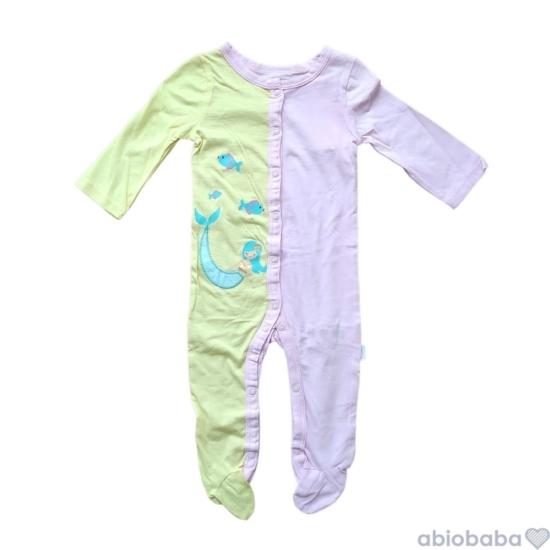 Vékony nyári baba pizsama MERMAID