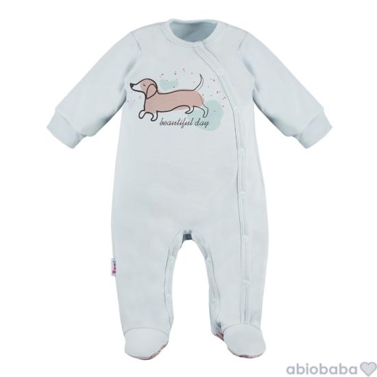 Világoskék baba pizsama LAZY DAYS