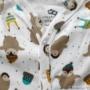 Kép 2/2 - Pingvin mintás pizsama eleje