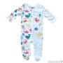 Kép 1/2 - Fehér alapon színes mintás baba pizsama SEA WORLD
