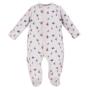 Kép 1/2 - Halványszürke mintás baba pizsama ADVENTURE