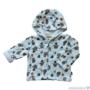 Kép 1/3 - Kapucnis bélelt baba kabátka PINGUIN