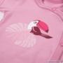Kép 2/2 - Pink átlapolós baba body eleje
