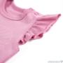 Kép 2/3 - Pink ujjatlan baba body válla