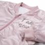 Kép 2/3 - Rózsaszínű baba bomber dzseki közelről 1