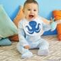 Kép 2/2 - Rugdalózó szett kisbabán