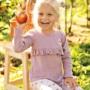 Kép 2/2 - Világoslila fodros felső ADVENTURE kislányon