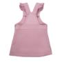 Kép 2/3 - Világoslila kantáros kislány ruha ADVENTURE hátulja